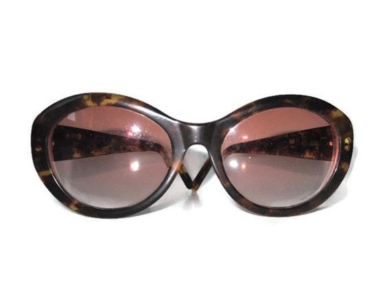 Vintage Designer Glasses Calvin Klein Tortoise Shell