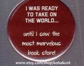 The Most Marvelous Bookstore Button