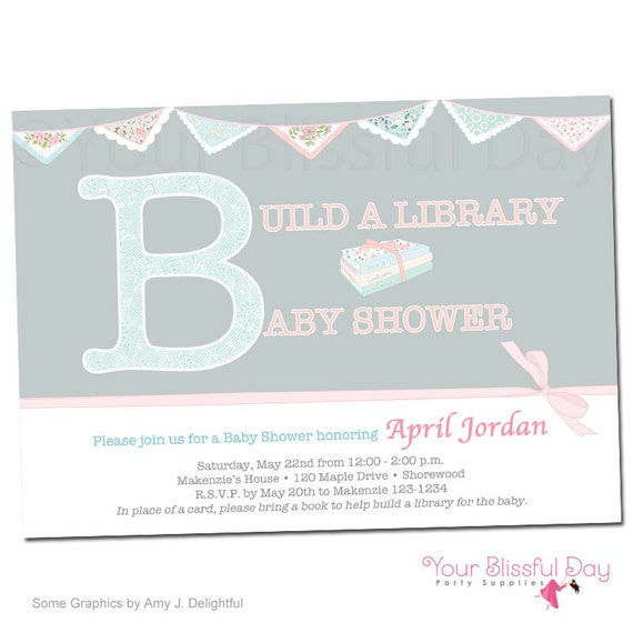 Vintage build a library personalized baby shower invitations 211 il570xn filmwisefo