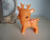 Adorable Vintage Plastic Deer