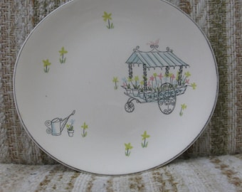 Johnson Brothers Flower Cart Side Plate