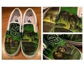 Custom Painted  Kid's Sneakers