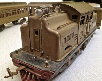 1920's Lionel 402 Locomotive and Cars
