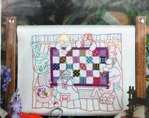 Quilting Bee - Designs for the Needle - Kit #5328 - Lois Thompson - Counted Cross Stitch - 14 ct. Aida