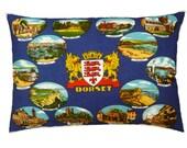 Vintage Dorset Linen Pillow