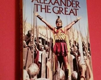 Alexander the Great VHS 1991 version of 1955 movie Richard Burton