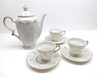 Vintage Starburst Tea Set