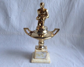 Vintage trophy  football coach trophy