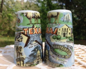 don't mess with TEXAS salt and pepper shakers