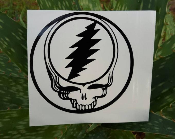 Grateful Dead Stealie Face Vinyl Decal Sticker