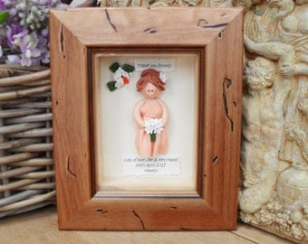 PERSONALISED BRIDESMAID GIFT, Maid of Honour, Flower Girl, Custom Made Plaque