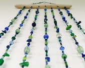 Under the Sea Beaded Hanging Mobile, Hanging Mobile Beaded Hanging Mobile, Mobile, Under the Sea, Ocean, Beach Decor, Beach Mobile, Sea