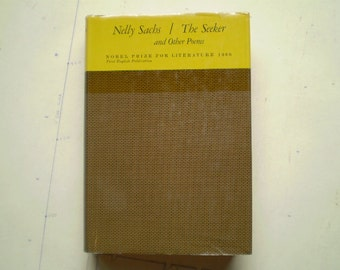 The Seeker and Other Poems - 1970 - by Nelly Sachs - Poetry