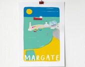 A4 Margate Print