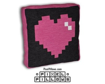 Pixel Heart - PixelPillows.com