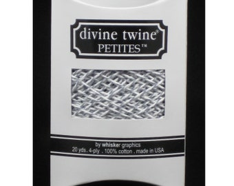 NEW-Divine Twine Petities (20 yards)-OYSTER