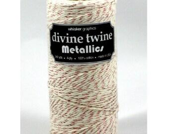 NEW**Rose Gold Vintage Metallic Divine Twine (240 yards)
