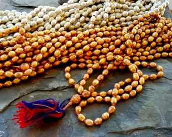 Ethiopian Prayer Beads, Handmade Tin or Brass Beads, 12 to 14mm
