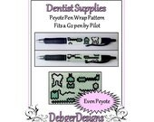Bead Pattern Peyote(Pen Wrap/Cover)-Dentist Supplies