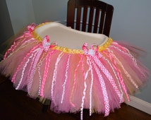 High Chair Tutu, Custom to your Birthday Party Theme