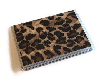 SALE Card Case Mini Wallet Leopard
