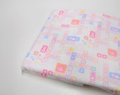 Special Listing, Nursery Print Fabric, 1 7/8 yd Remnant, Mystery Fabric, New Baby Themed Fabric