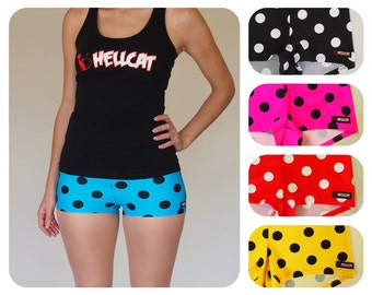 Polka Dot Roller Derby Shorts - Pre-Order - CLEARANCE