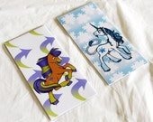 Small Pony Bookmarks - 2 Designs Available