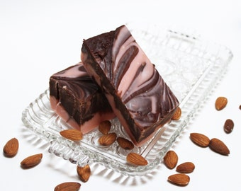 Chocolate Amaretto Fudge, a Classic Taste Treat, One Pound