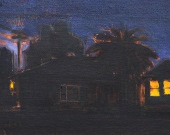 San Diego Night Painting- South Park