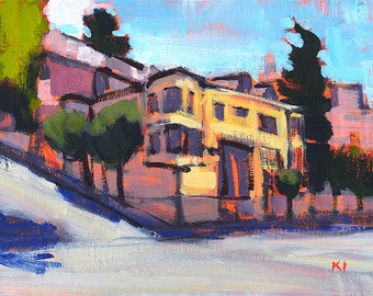 San Francisco Painting - Russian Hill