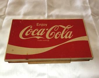 Vintage Coca-Cola Dispenser Sign