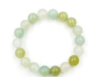 Agate Beads Yoga Meditation Rosary Beaded Bracelet  T3259