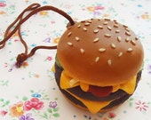 Quarter Pounder with Cheese.Pendant