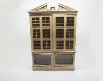 Miniature dollhouse unfinished baby house cabinet  - code. VMJ7901