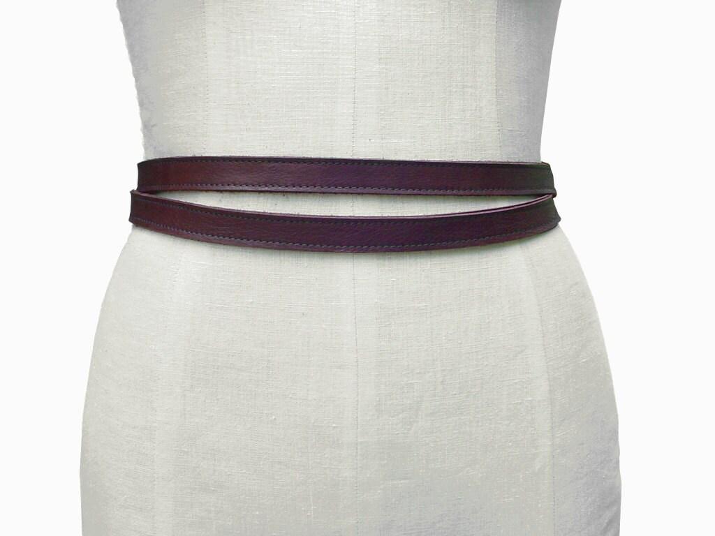 leather belt brown leather belt wrap belt