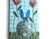 Bunny Art, Mosaic Rabbit, 'Bunny butt'