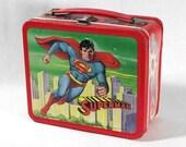 1978 - Superman, the Movie - Vintage Aladdin Lunch Box