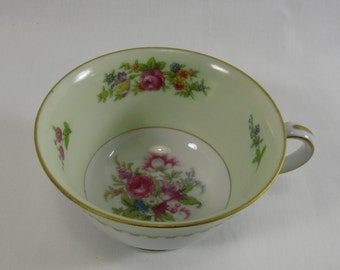 Vintage 1940s Rose China Tea Cup Made in Occupied Japan
