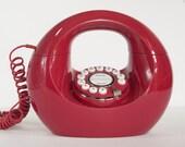 Donut Phone, Handbag Phone, Red Phone