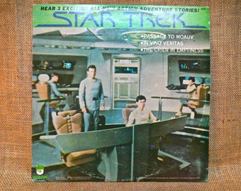 STAR TREK  - Star Trek... The Original Motion Picture Soundtrack - 1979 Vintage Vinyl Record Album