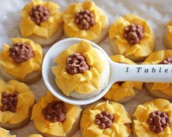 5 dozen Sunflower Mini Cookie Nibbles