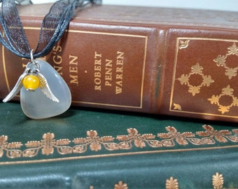 Catch A Snitch Quiddith inspired penant necklace