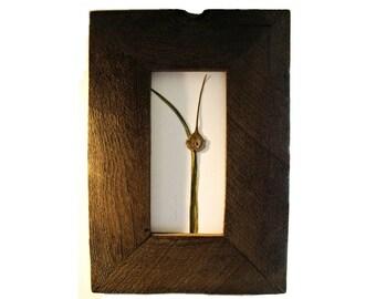 Swedish Garlic .  . framed in Rich Reclaimed Wood