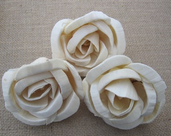 Sola Romance Roses - Natural - Set of 3 - Large