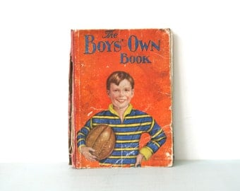 Vintage 1930s Boys' Own Book