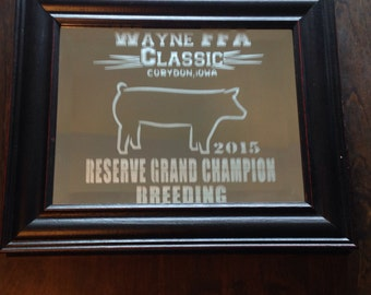 Custom Livestock Awards