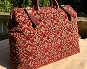 Carpet Bag, Weekender / Overnight / Carry on / 'Carpet' Travel Bag