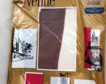 Vintage Park Avenue Parkilon Stockings Medium Taupetone Nylon