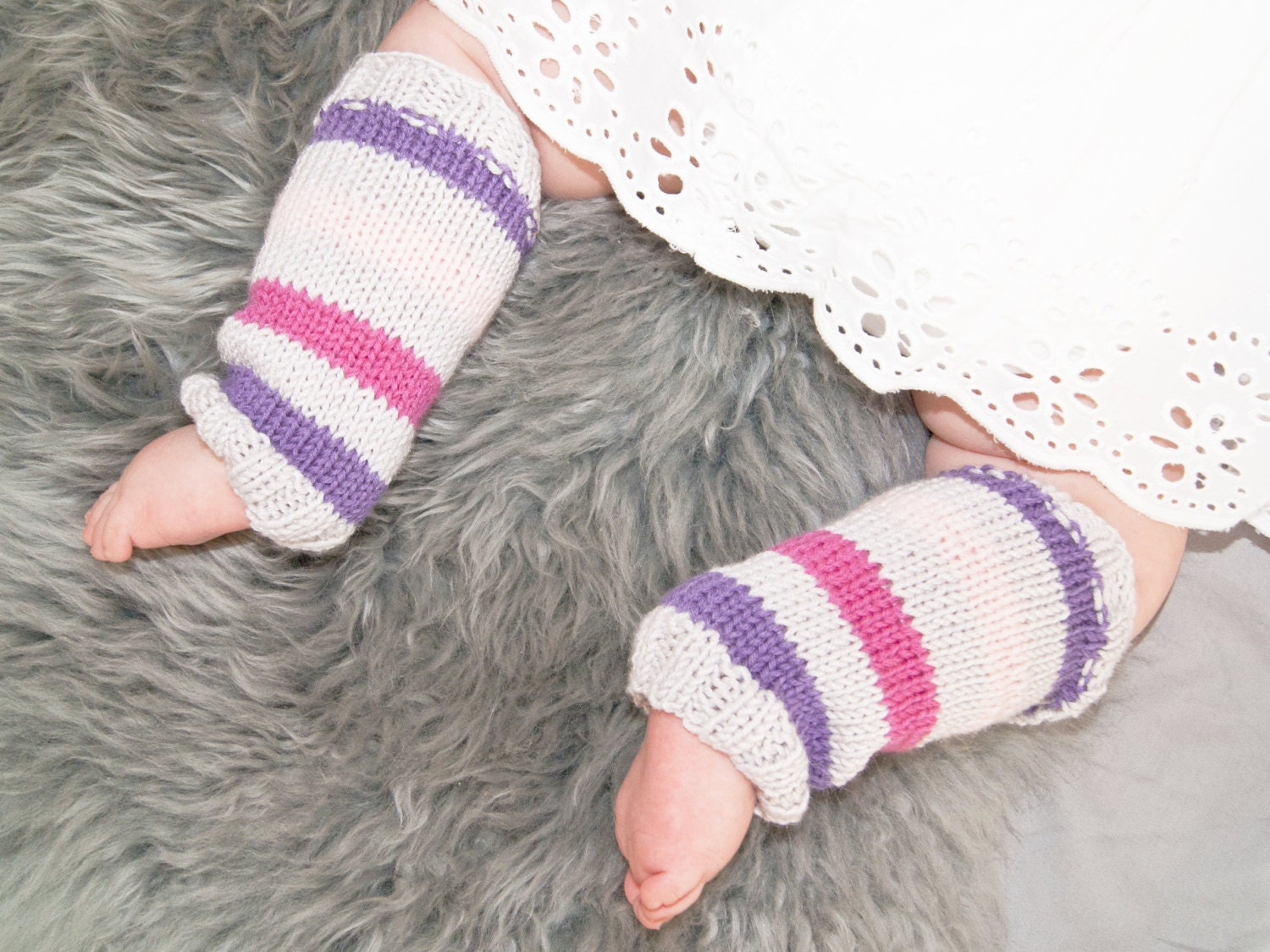 Baby Leg Warmers Hand Knit Girl Baby Boot Cuffs By ...